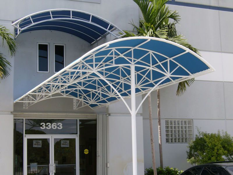 Entrance Awning Amp Porte Cocheres Miami Awning