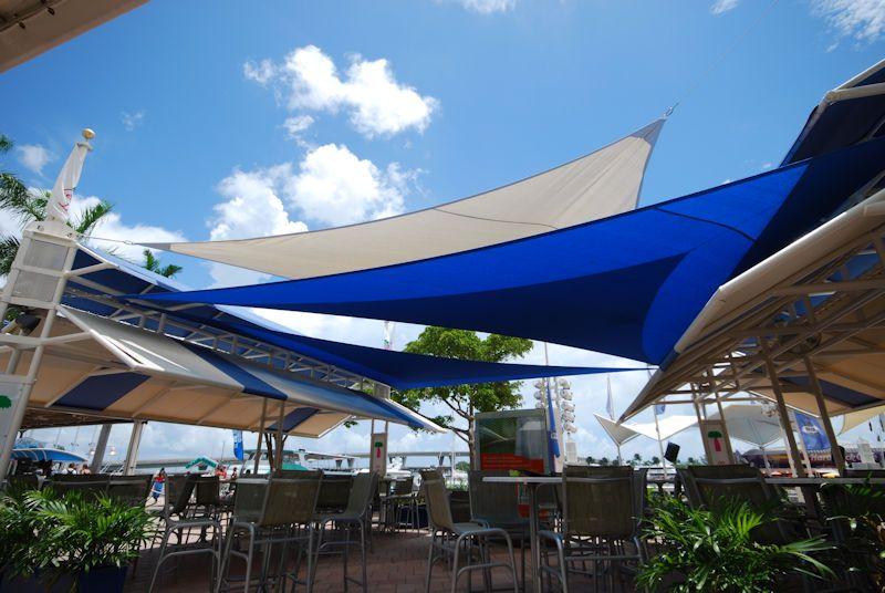 Shade Sails Lets Make A Daquiri At Bayside