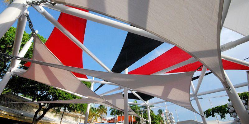 Shadesails For Segafredo At Bayside Marketplace Photo 1