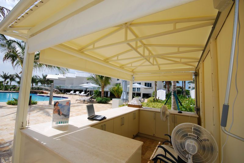 Roll Down Curtains Amp Screens Miami Awning Company