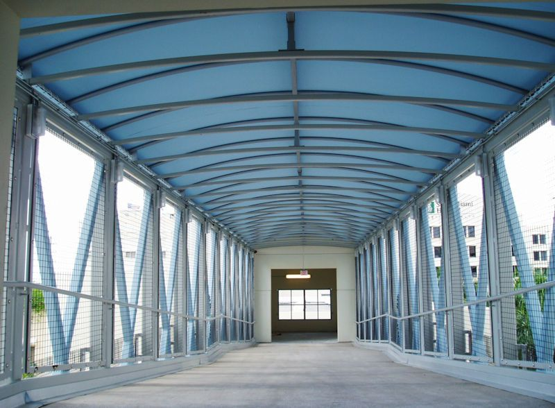 Escalator Canopies Amp Walkway Covers Miami Awning