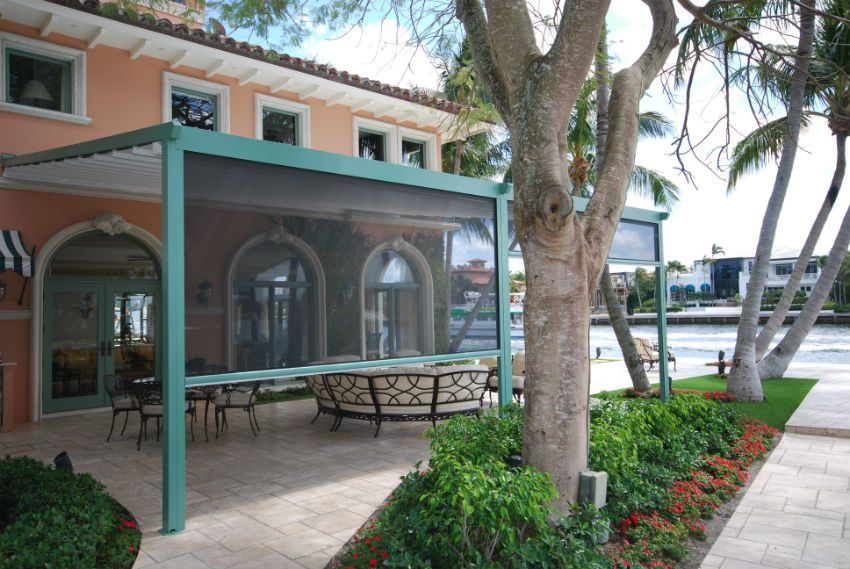 Retractable Awnings Amp Canopies Miami Awning Shade