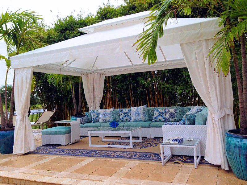 Cabanas Amp Gazebos Miami Awning Shade Solutions Since 1929