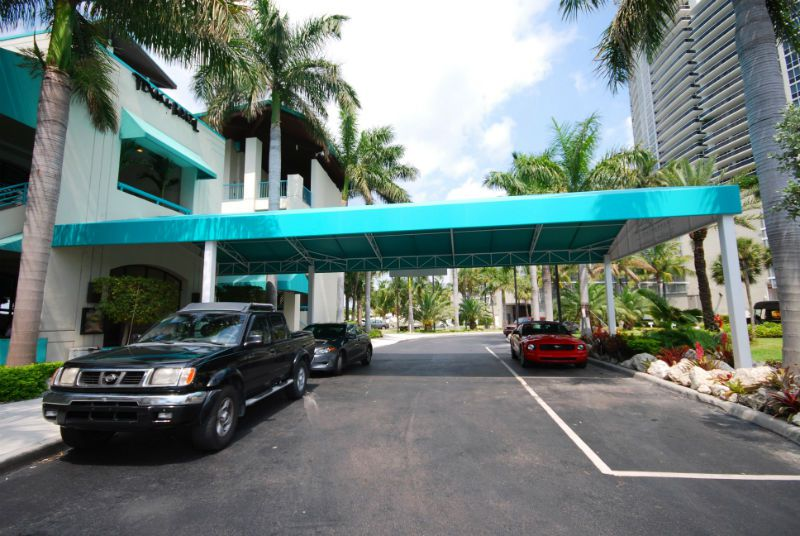 Entrance Awning & Porte Cocheres - Miami Awning